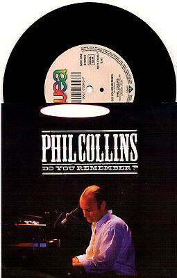 Phil Collins ‎- Do You Remember? / Against All Odds (Live) - 7'' Vinyl