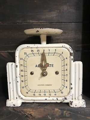 🌼Vintage Accurate Western Germany Tan Scale 1945-49🌼Awesome Estate Find!