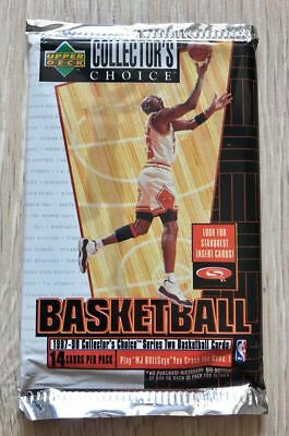 1997-98 UD Collecters Choice Hobby Series 2 Basketball Cards Pack Michael Jordan