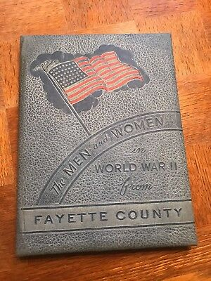 The Men and Women in World War II from Fayette COUNTY Texas Armed Forces