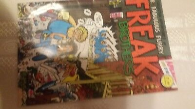 The fabulous furry Freak Brothers Ripp off Press 1980 comics US Gilbert SHELTON