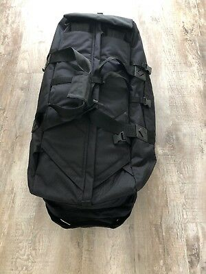 British Army Black Deployment  bag holdall 100 litres  backpack BRAND NEW
