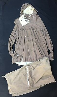 Ww2 German Army Reversible Anorak And Trousers Original Wwii