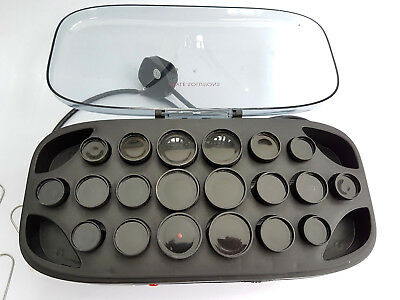 20 Style Solutions Portable Heated Hair Rollers Curlers Cased with Clips