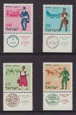 Israel 4 early issues with tabs  see scans x 2