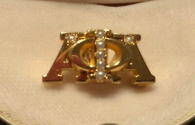 Alpha Phi Alpha Official Brother's Badge Fraternity Pin