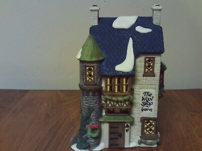 Dept 56~Dickens' Village Series~The Wool Shop~In Box~5924-2