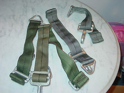 Military Parachute Harness D Clips!