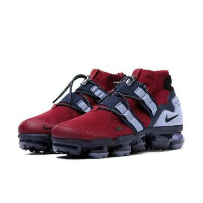 NEW Men's Nike Air Vapormax Flyknit Utility Team Red/Obsidian AH6834-600 DS