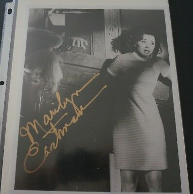 Marilyn Eastman Autographed  Night Of The Living  Dead B&w 8X10