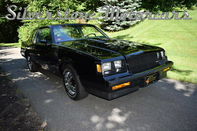 1987 Buick Grand National  1987 Black Low Miles One Owner Pristine Stunning Collector Car
