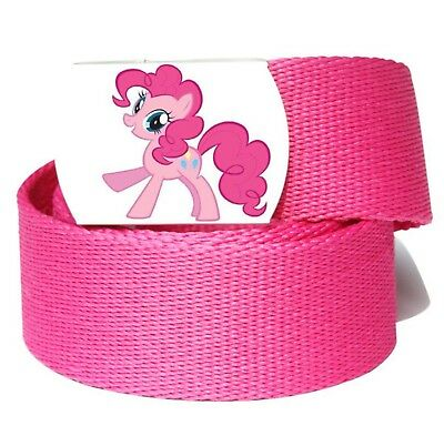 Girls Kid Children Pink My Little Pony Sports Pants Canvas Buckle Belt accessory