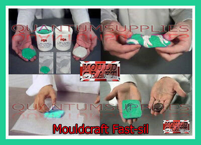 Mouldcraft Fast-Sil 25  16g-1kg Mould Making Silicone Putty Food safe Sugarcraft