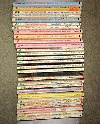 Lot Of 28 The Baby Sitter S Club Little Sister Books 80s 90s
