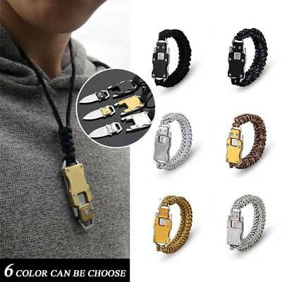 Field  Defense Transformer Multifunctional EDC Tactical Parachute Rope Bracelet