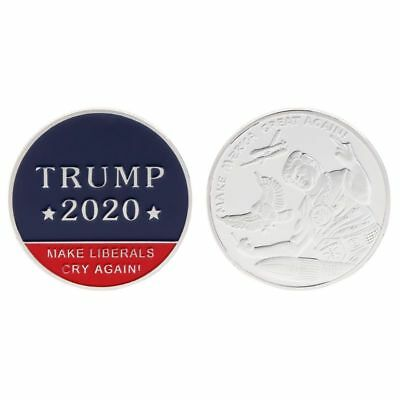 Commemorative Coin Donald Trump 2020 Make America Great Again President Souvenir