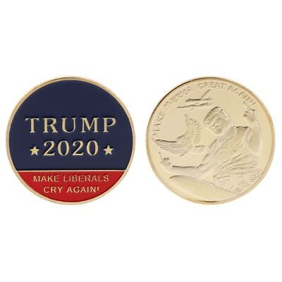 Commemorative Coin 2020 Donald Trump Make America Great Again President Souvenir