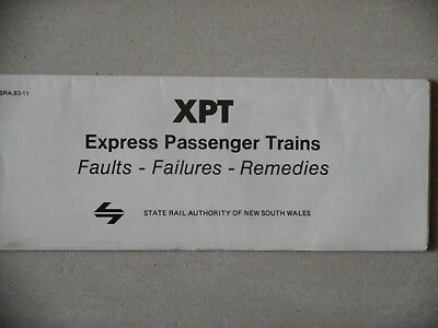 XPT Express Passenger Trains - Faults - Failures - Remedies