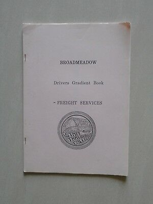 Broadmeadow - Drivers Gradient Book