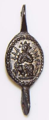 The Resurrection MEDIEVAL Bronze HOLY MEDAL Pilgrims Badge Servite Rosary Link