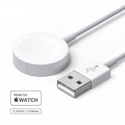 Magnetic Charger Charging Pad Cable For Apple Watch iWatch Series 2 3 4 38 42mm