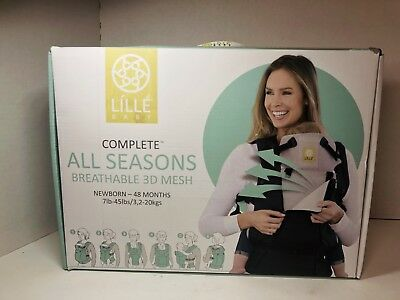 LILLEbaby COMPLETE All Seasons 6-Position Baby/Child Carrier (0-48mo) Stone Gray