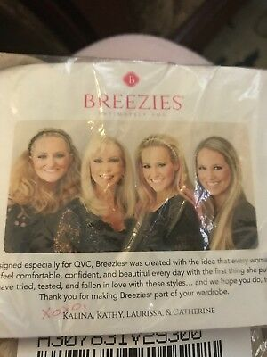 Breezies Set of Two Soft Support Lace Bras - Beige - Factory Sealed Bag