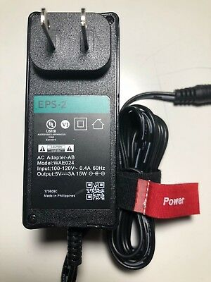 Power Supply EPS-2,Ac Adapter -AB,Model WAE024,  5 V 3A,15 W