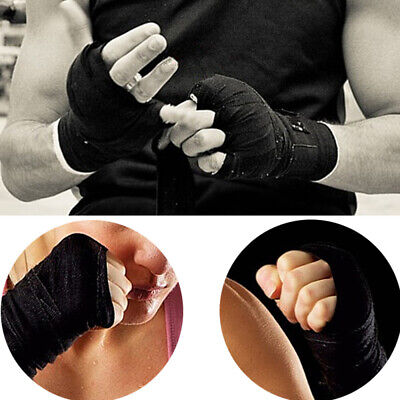 Cotton Hand Wraps Inner MMA Boxing Gloves Bandages Training Muay Thai Stretch