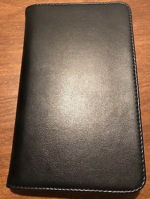 Plan Ahead Business Credit Card Holder Black 96 Cards Filebook 70724 Organizer