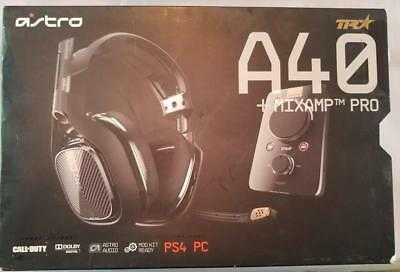 ASTRO Gaming A40 TR Headset + MixAmp Pro TR for PlayStation 4, PS3, PC