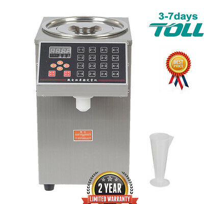 Bubble Tea Equipment Fructose Quantitative Machine Fructose Dispenser 7L Steel