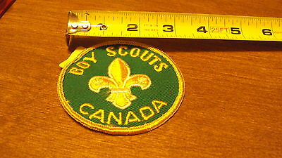 Boy Scouts Canada Badge Patch Embroidered Sew On Scout bsa