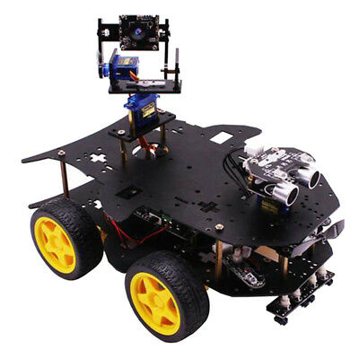 Blesiya Robot Car Kit Smart Educational Toy for Raspberry Pi 3B+ with Camera