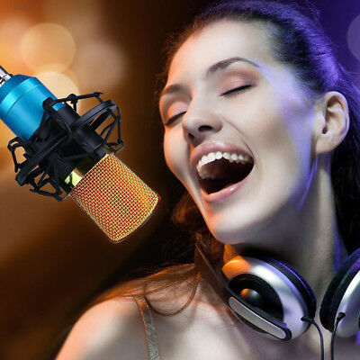6E97 PROFESSIONAL Condenser USB Studio Sound Microphone Vocal System For PC lapt