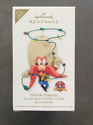 2012 Looney Tunes Yuletide Yosemite Sam Hallmark Limited Edition Ornament