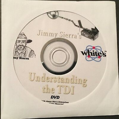White's Understanding The TDI Metal Detector By Jimmy Sierra Instruction DVD .