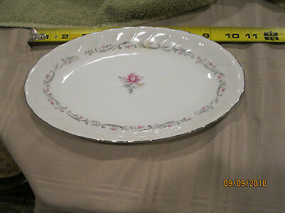 Fine China of Japan ROYAL SWIRL MSI Small Platter excellent condition