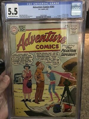 Adventure Comics #283 First Apperance Of General Zod Cgc 5.5 Easily Higher