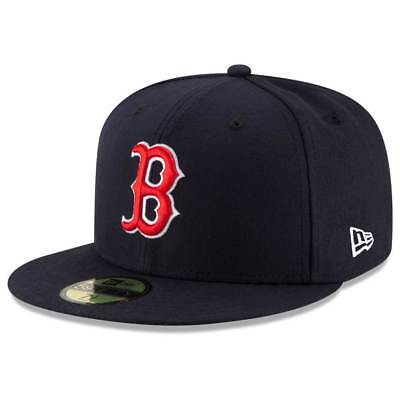 New Era Boston Red Sox Authentic 59FIFTY Fitted MLB Cap Game