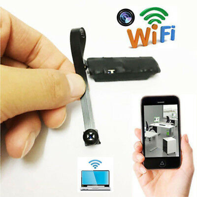 WIFI IP Pinhole Spy Camera Wireless Mini Nanny Cam Digital Video Hidden DVRJF