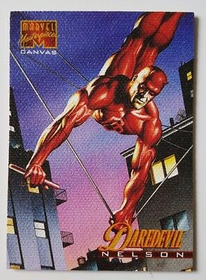 "Marvel Masterpieces Canvas Karte "" Daredevil "" Marvel Trading Cards"