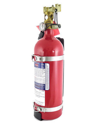 NEW SEA-FIRE MARINE FG-150M Manual/Auto Non-Rechargeable Fire Extinguisher RED