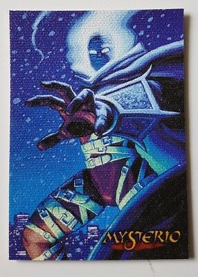 "Spider-Man Premium '96 Canvas Karte "" Mysterio "" Marvel Trading Cards"