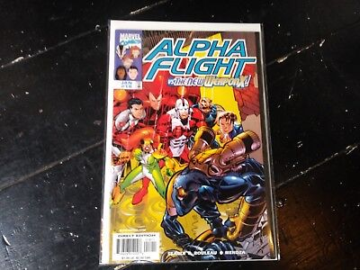 Marvel comics Alpha flight vol 2 #18