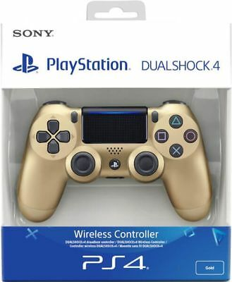Sony Official Dualshock 4 Controller (GOLD) (PS4) New & Sealed Free UK Shipping