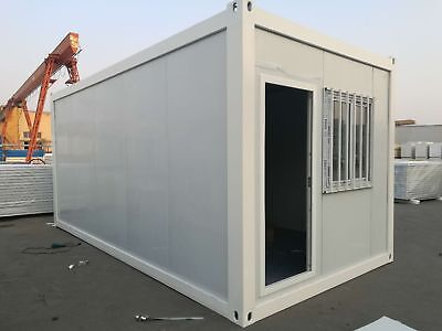 Factory Direct Sales Flat Made House Customized  shipping container house