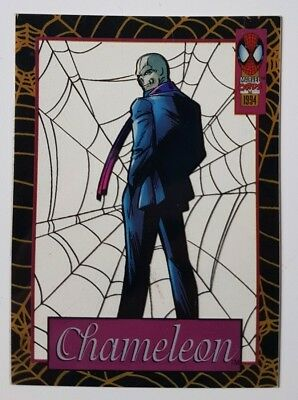 "Spider-Man Suspended Animation Karte "" Chameleon "" Marvel Trading Cards"