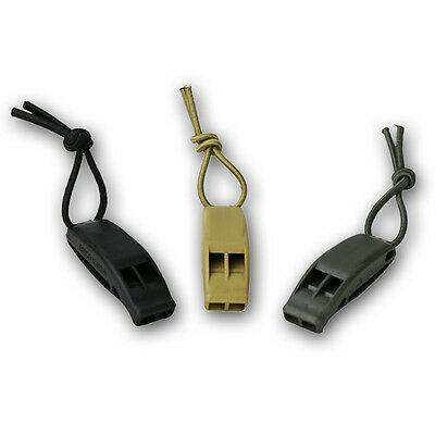 Tactical Molle Whistle Plastic Abs  Army Military Survival