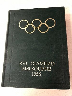 MELBOURNE 1956 OLYMPIC GAMES OFFICIAL REPORT Mint Condition.